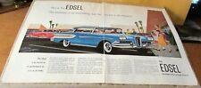 Edsel-[ Citation ]-< 1958 >{Original 2 Page Old Car Ad}-File 528/6