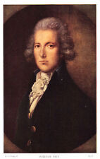 WILLIAM PITT 1st EARL OF CHATHAM BY GAINESBOROUGH~ART POSTCARD c19
