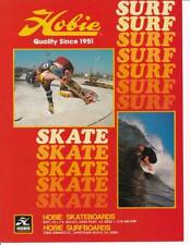 New listing Rare 1978 Hobie Skateboard & Surfboard Ad/ Great Art