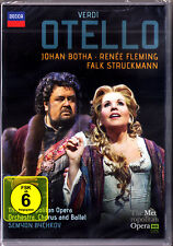 DVD Verdi Otello renee fleming johan sitio Falk Struckmann Tatum fabiano Bychkov