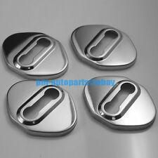 PM Anti-rust 304 Steel Door Lock Cover Cap Trim Body Kit New for Toyota/ Honda
