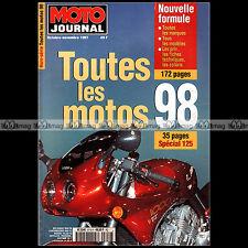MOTO JOURNAL HS 9710 HORS-SERIE ★ CATALOGUE / TOUTES LES MOTOS 1998 ★ SALON