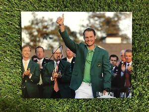 DANNY WILLETT GOLF THE OPEN MASTERS 2016 RYDER CUP HAND SIGNED 10x8 PHOTO & COA