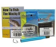 Wacky Rig Kit - Z-Man ZinkerZ 6pk + Wacky Weedless Hooks 10pk + Wacky Tool...