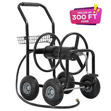 Garden Hose Reel Cart with Wheels Garden Lawn Water Truck Water Planting Cart
