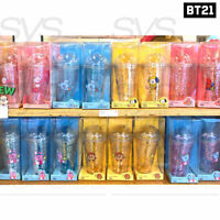 BTS BT21 Official Authentic Goods Glitter Cold Cup Tumbler 16 fl.oz
