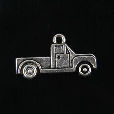 25pcs Tibetan Silver Car Charms For Jewelry Making
