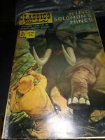 Classics Illustrated No 97 King Soloman's Mines 1965, Acceptable