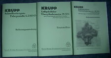 Bedienungsanweisung Krupp LKW L2H143 & Beschreibung & Ersatzteilliste Motor M304