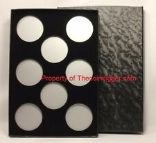 1 Air-tite Coin Storage Box Capsule Holder for 8 MODEL H Insert Silver Reflector