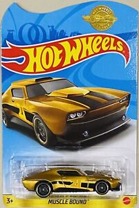 Hot Wheels Muscle Bound Gold Legends Special Edition SALE Bent Card