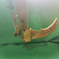 Simulation Vollmetall Bagger Ripper Ripper für Huina 550/580/592 RC Bagger Teile