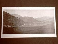 Veduta del 1916 La Vallata di Rovereto Trentino Alto Adige