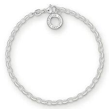 Thomas Sabo Charm Armband 925 Sterling Silber X0163-001-12-m
