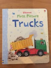Usborne First Picture Trucks - Board Book