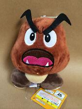 Super Mario Plush Teddy - Goomba Soft Toy - size 15cm NEW & Tagged