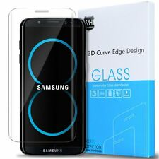 Samsung Galaxy S8 Plus Tempered Glass Screen Protector [3D Curved Edge] 4 Color