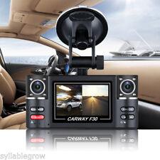 "2.7"" HD 1080P Car DVR Digital Video Double Camera Recorder Night Vision Dash Cam"
