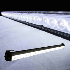 "35"" 36"" 32 LED Emergency Traffic Advisor Light Bar Flash Strobe white"