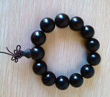 Nice 18mm Ebony Wooden Beads Bracelet for Cool  Man and Fashion Men
