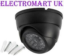 DUMMY DOME FAKE DECOY CCTV SECURITY CAMERA FLASHING LED