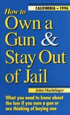 How to Own a Gun & Stay Out of Jail: What You Need to Know About the Law If You