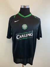 Nike Glasgow Celtic FC Jersey Men's Size Large L Soccer Football Carling