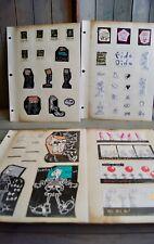Vintage 1980s Fido Dido Stickers Unused Unstuck - 1985 UFS, Inc. Gift Gate Phil.
