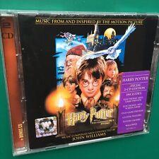HARRY POTTER +PHILOSOPHER'S STONE Special Ed. Film Soundtrack 2-CD John Williams