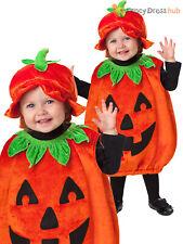 Kids Toddler Pumpkin Patch Cutie Halloween Fancy Dress Costume Boys Girls