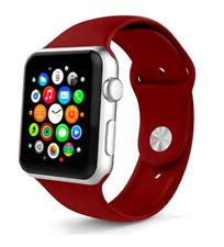 Correa Deportiva Silicona Suave 8 colores para Apple Watch Series 1/2/3/4/5/6/SE