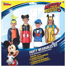 MICKEY MOUSE Roadster Racer PARTY WEARABLES KIT (16pc) ~ Birthday Party Supplies