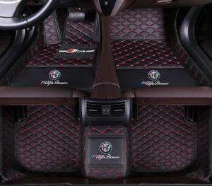 For Alfa Romeo-Giulia-Stelvio-2017-2021Car Floor Mats