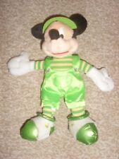 St Patrick's Day Disney Mickey Mouse Plush Beanie