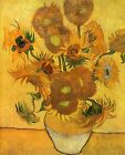 Print - Vase with Fifteen Sunflowers by Vincent van Gogh-1888