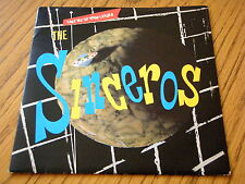"THE SINCEROS - TAKE ME TO YOUR LEADER  7"" GREEN VINYL PS"