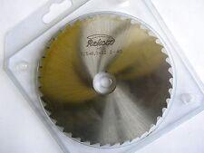 Rekord, Metallkreissägeblatt 125 x 6 x 22, 40 Zähne, HSS, DIN 1838B