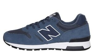 New Balance 565 Mens lo profile Trainers Blue/White Sizes 6.5 - 11.5 new