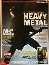 Le guitariste Book of Heavy Metal plus CD 255 pages, metallica iron maiden etc