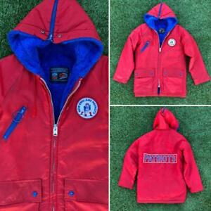 MINT VTG 70s/80s Sears NFL New England Patriots Lined Jacket YOUTH L/XL Sz 16
