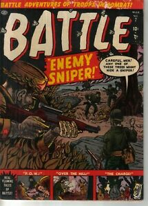 Marvel/Atlas Battle #7 1952 W: UNK  A: Al Hartley and Joe Maneely