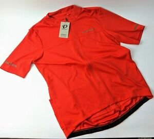 Pearl Izumi Men's Tempo Cycling Bike Jersey Torch Red Size Small 11121906