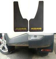 2pcs Universal MoMo Power 3D Carbon FIBER Car Mudflaps Mud Guard Fender