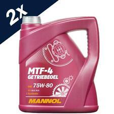 MANNOL 8L MTF-4 Getriebeoel 75W-80 API GL-4 BMW MTF LT-1/-2/-3/-4 MB 235.10