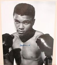 Muhammad Ali 8x10 Autographed Rare Photograph Young Cassius Clay Boxing Champion