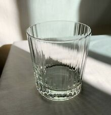 "Luigi Bormioli Double Old Fashioned glass. Pattern ""Bach Son.hyx"""