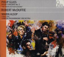 "Violin Concerto # 2, Philip Glass, ""The American Four Seasons"" CD, 2010, Digipak"