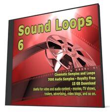 Cinematic Collection Sound Loops 6 Logic Ableton FLStudio Cubase Sonar WAV Loops