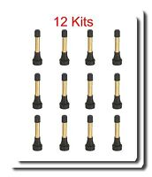 12 Kits TR-602 HP High Pressure Tire Wheel Valve Stems