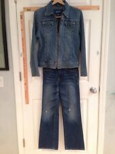 Abercrombie 12 Slim Jeans & Jacket 1966J3